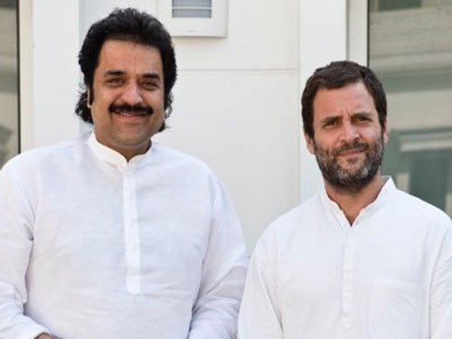 Bhajan Lal's son merges party with Congress