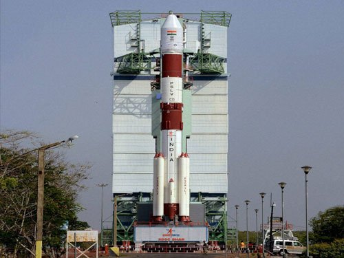 PM terms PSLV-C33 launch as example of 'Make in India'