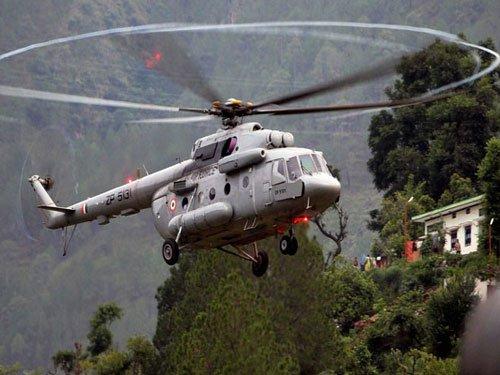 Uttarakhand fire:IAF undertakes water sprinkling operations