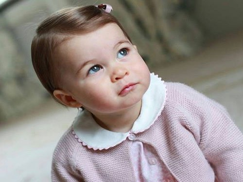 New pictures of Princess Charlotte released
