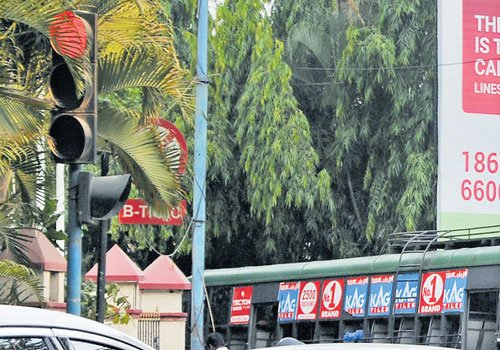 Waiting time at signals set  to reflect actual traffic flow