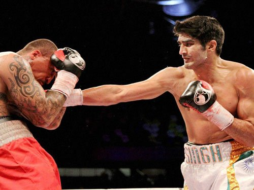 Hoping to carry momentum into fight in India: Vijender