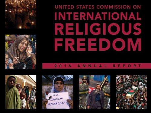 Religious freedom in India on 'negative trajectory': USCIRF