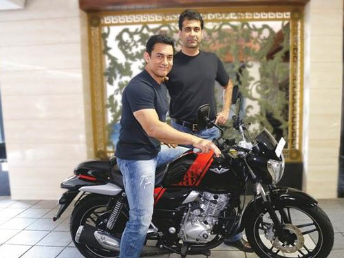 Aamir Khan's new bike contains metal of INS Vikrant