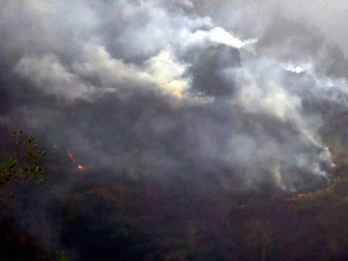 Number of forest fires goes down in Ukhand, IAF ops continue