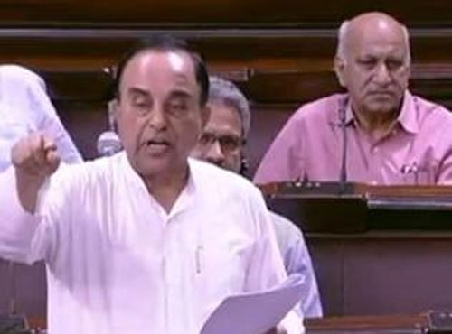 Anthony was overruled in Agusta deal, alleges Swamy