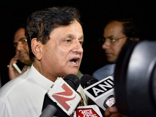 Will quit public life if allegations proved, says Ahmed Patel