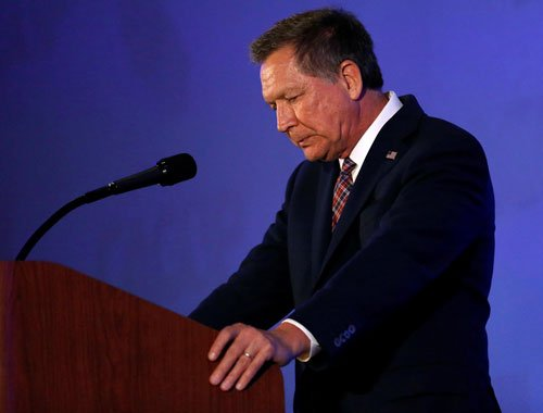 Kasich withdraws from Republican presidential race