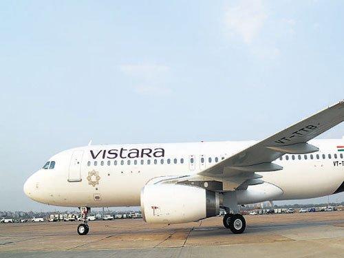 Vistara's Bhubaneswar flight suffers bird hit, passengers safe