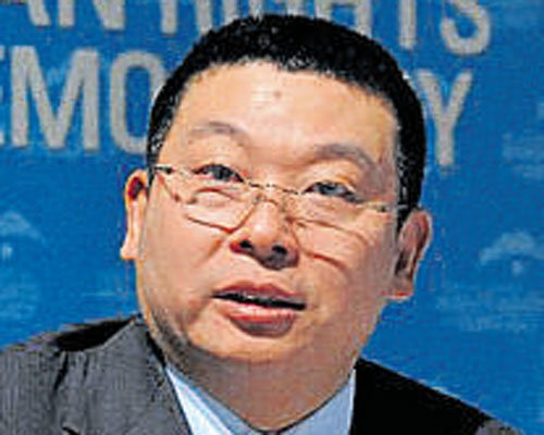 Democratic China good for India, says Chinese dissident