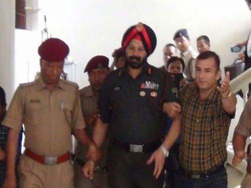 Assam Rifles officer held in gold heist case