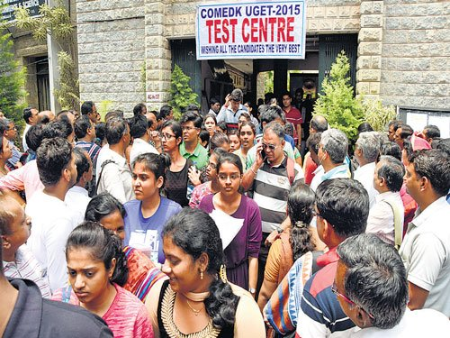 ComedK: Students get centres a 'little away'