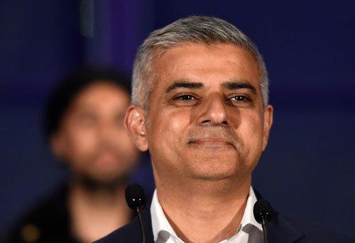 Khan triumphs as London's first Muslim mayor