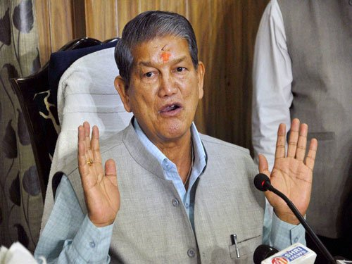 New purported sting targets Rawat; BJP, Cong trade charges