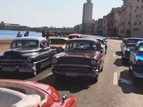 Vintage Cars Used For Fast And Furious 8 Shoot In Cuba Deccan Herald