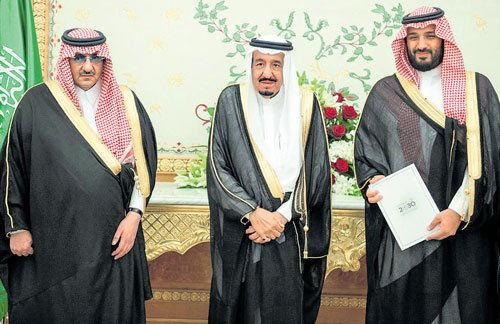 Tension rising, Saudi king ousts ministers