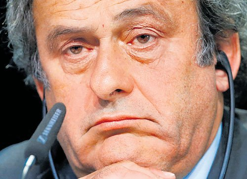Tainted Platini steps down as UEFA president
