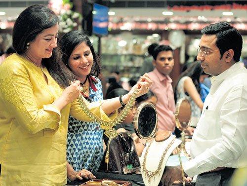 Business is sluggish this Akshaya Trithiya due to rising gold prices