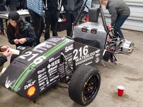 RV college students win acclaim at car design competition in US