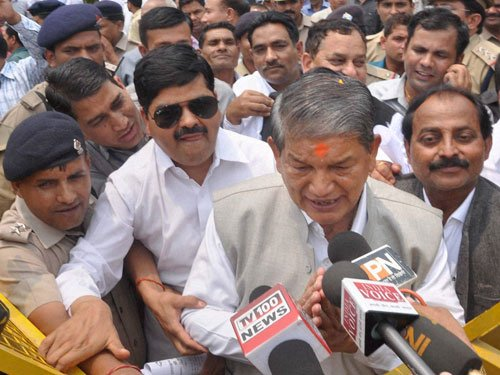End politics of confrontation: Harish Rawat to Centre