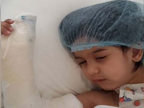 Gurgaon: 3 year old's thumb slashed at daycare centre, complaint filed