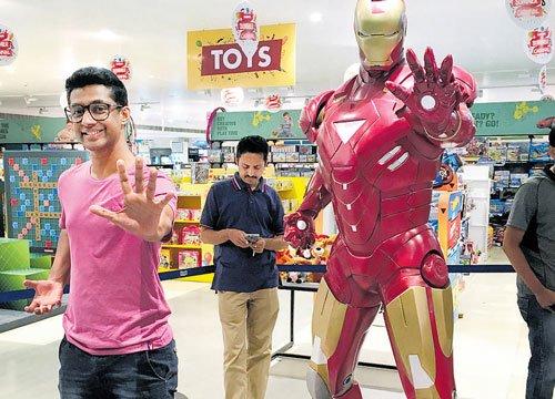 Marvelling at superheroes