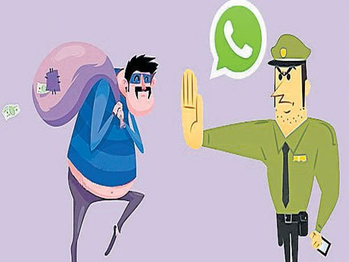 WhatsApp Nos to help bridge police-public gap