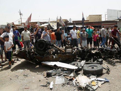 Triple Baghdad car bomb attacks kill at least 86