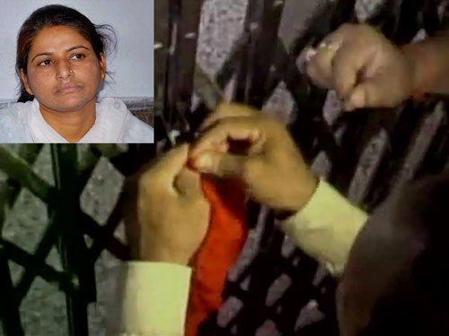 Suspended JD(U) MLC faces arrest, police seal her Gaya house
