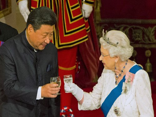 Queen, British PM caught on camera making diplomatic gaffes