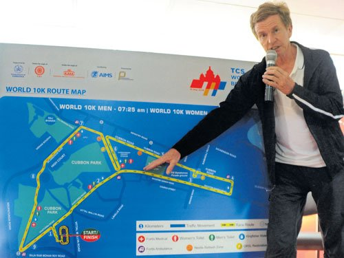 New route for World 10K