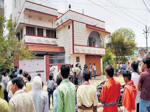 Suspended Bihar MLC's house sealed