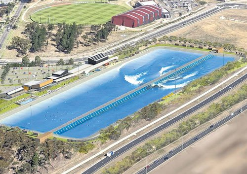 Melbourne to have  a new wave pool