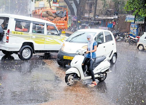 Showers continue to lash parts of state