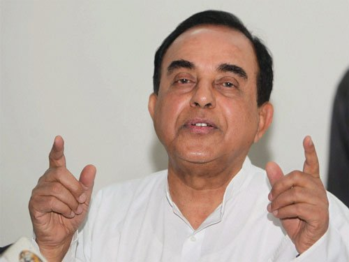 Swamy seeks SIT probe into Sunanda Pushkar's death