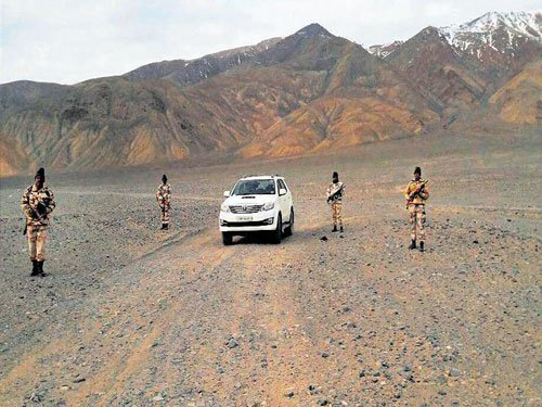 High-end SUVs for troops on India-China border
