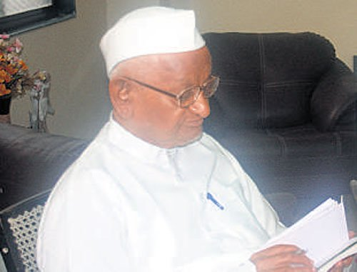 Letter threatens to kill Anna Hazare for spreading 'unrest'