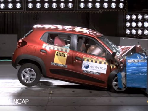 Five car models in India fail crash tests by Global NCAP