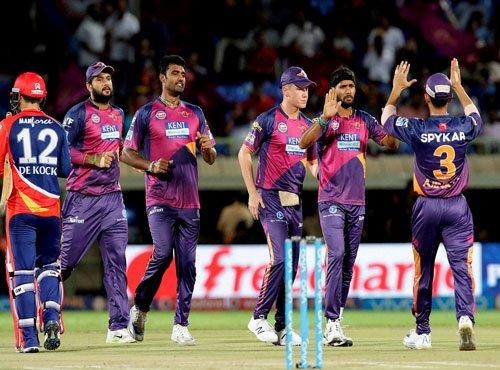 Pune beat Delhi by 19 runs under D/L method