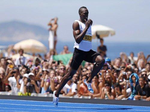 Bolt undergoes treatment