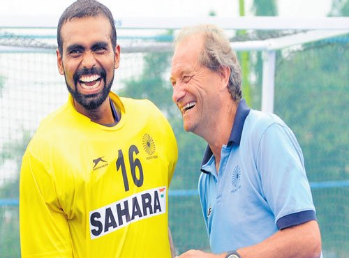 Sreejesh to lead; Sardar rested
