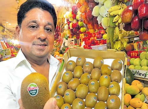 Kiwifruit, a hot favourite among Bengalureans
