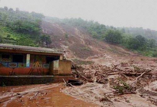 Eleven killed in Assam landslides
