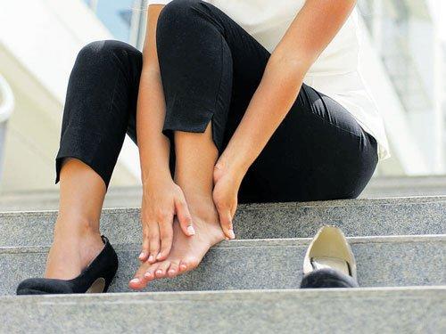 Kick the heels