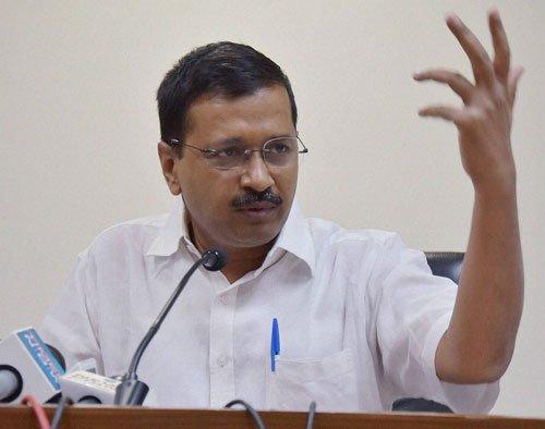 Kejri releases draft Bill seeking full statehood for Delhi