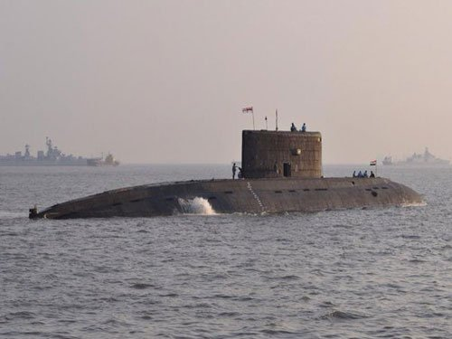 Navy submarine sent to Russia for refit