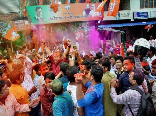 BJP scripts history in Assam, dethrones Congress