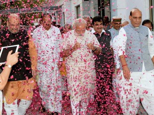 Poll results nod to govt growth agenda, says Modi
