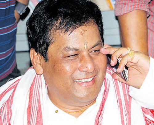 Sonowal journey to chief minister's chair