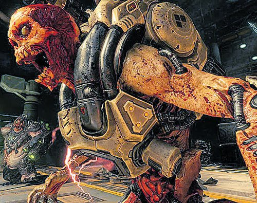 Doom, a ludicrous yet compelling return to shooter basics